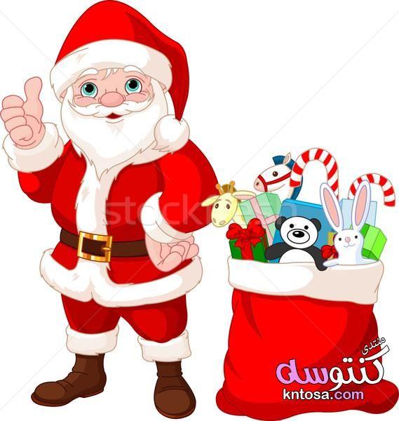 سكرابز بابا نويل2019 سكرابز الكريسماس بخلفيات شفافة صور بابا نويل بجوده عاليه وحصرى Kntosa Com 25 18 154 Santa Santa Claus Gift Vector