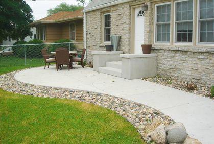 Charming Concrete Patio Designs Ideas Photos And 2014 Makeovers.