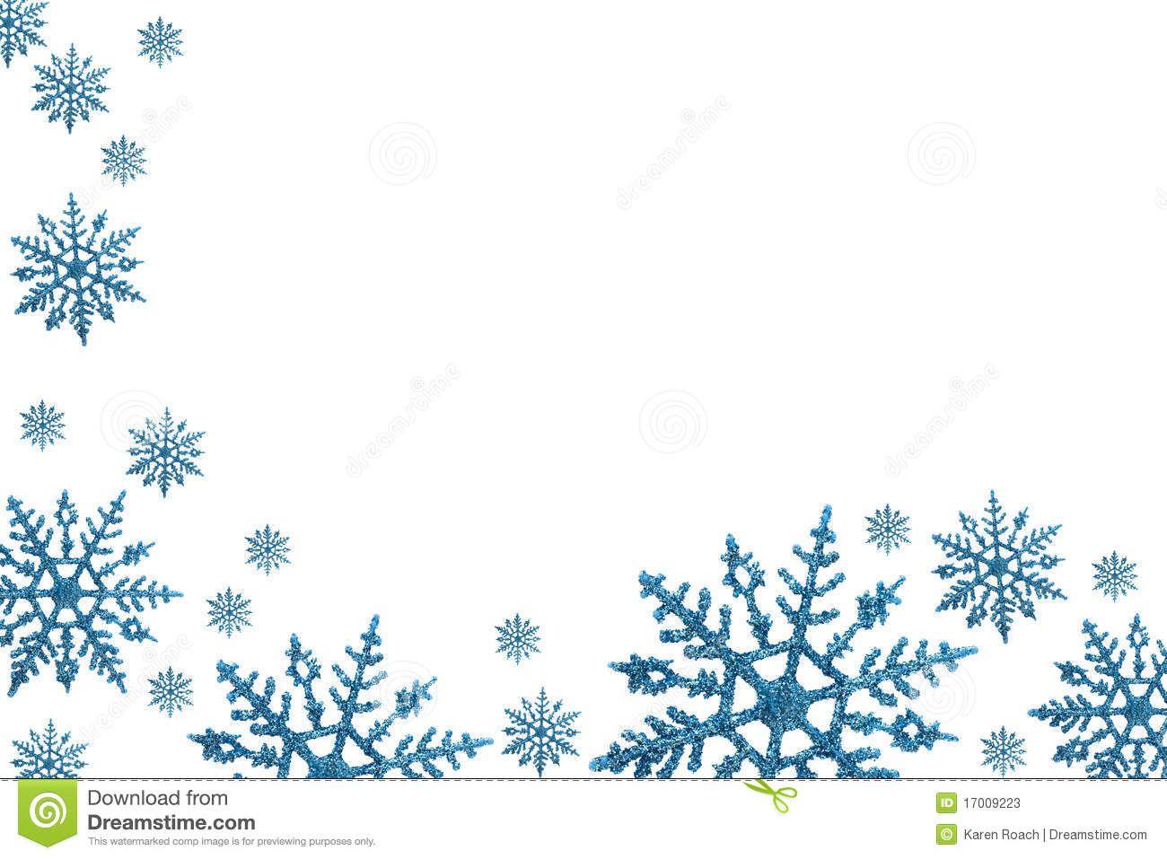 Winter Border Clipart