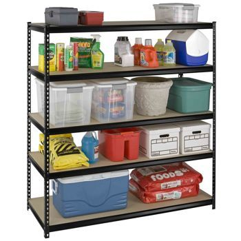 Costco Spg International Heavy Duty 5 Tier Slotted Shelving