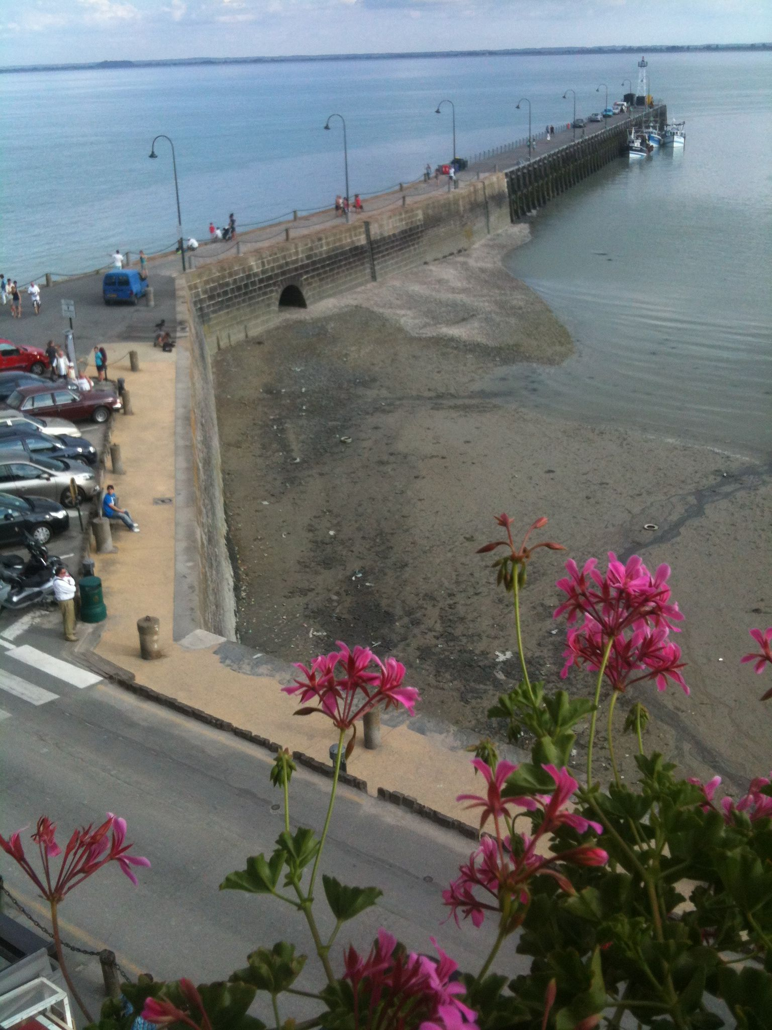 Cancale France has a seaside port area