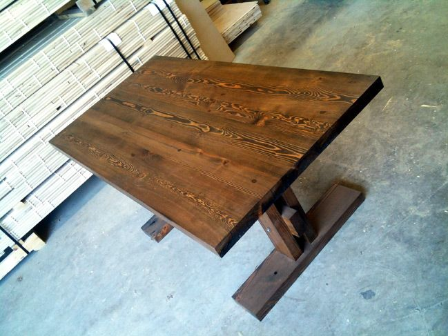 reclaimed timber tables custom hardwood tables by wood anchor rh pinterest com
