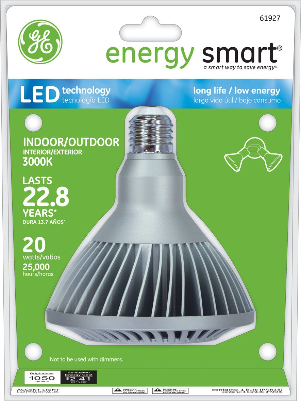 GE Energy Smart (R) 75W Replacement (20W) PAR38 LED Light