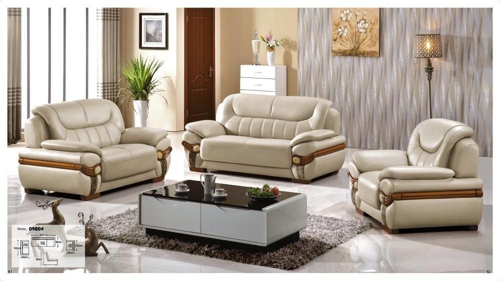Iexcellent Modern Design Genuine Leather Sectional Sofa Sofa Set Living Room Furniture Leat Living Room Leather Leather Living Room Set Living Room Sofa Design