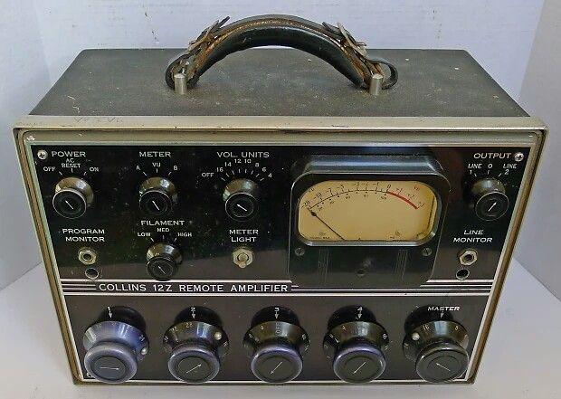 Late '40's COLLINS 12Z-2 Remote Amplifier-4 ch mi… | Tube Amps