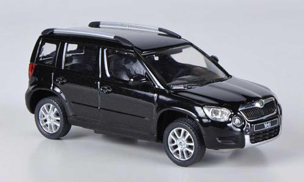 ec27997a89d71 Skoda Yeti black Abrex. Skoda Yeti black miniature 1/43 | Toys for ...