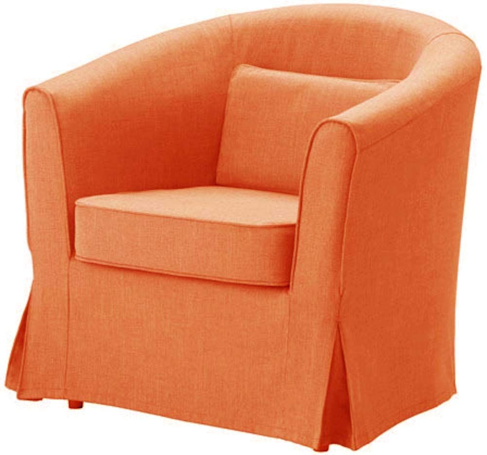 Easy Fit The Ektorp Tullsta Chai In 2020 Armchair Slipcover Slipcovers For Chairs Slipcovered Sofa
