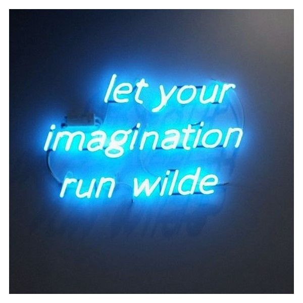 Blue Quotes Classy Neon Lighting Liked On Polyvore Featuring Pictures Aesthetic