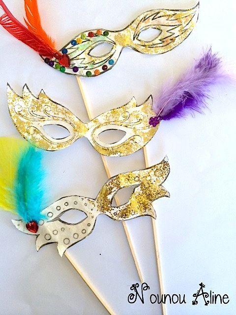 Masques de carnaval activit nounou masque carnaval maternelle masque carnaval et carnaval - Masque de carnaval de venise a imprimer ...