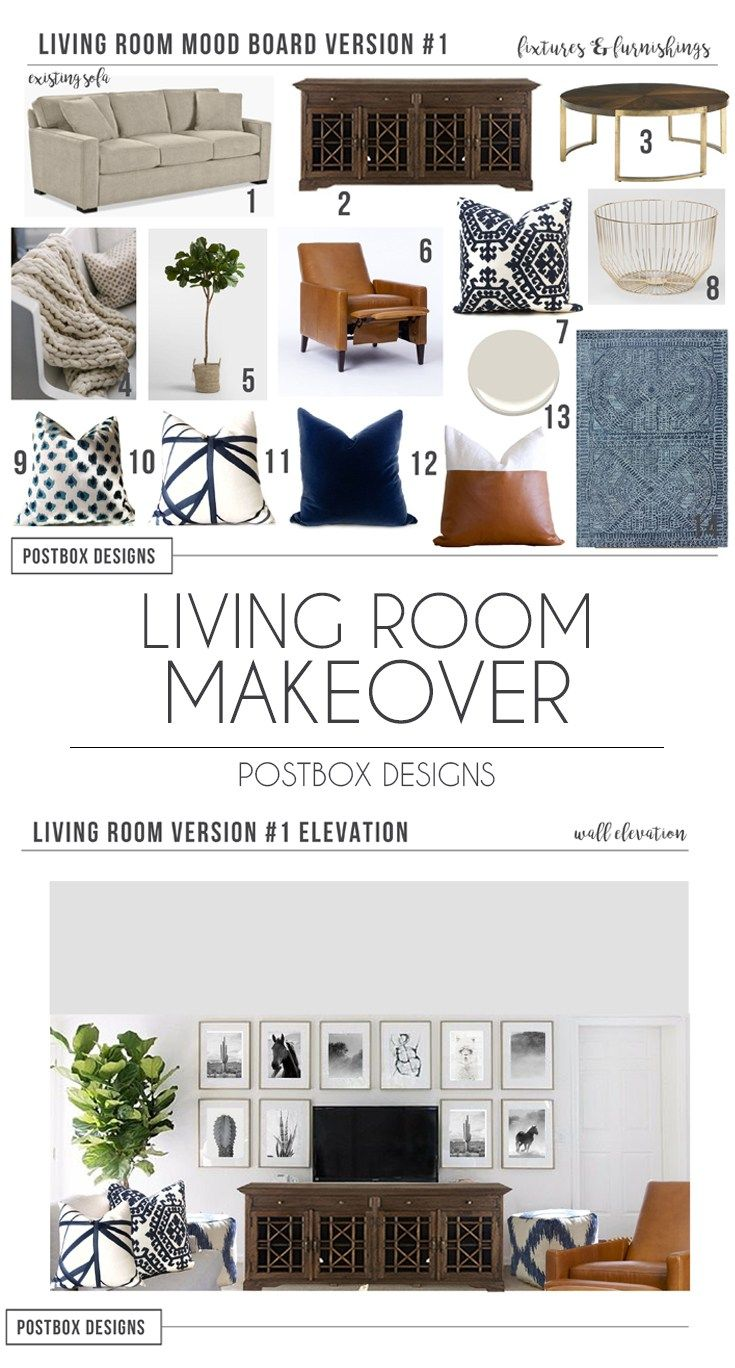 Traditional Living Room Makeover Reveal: Part I images