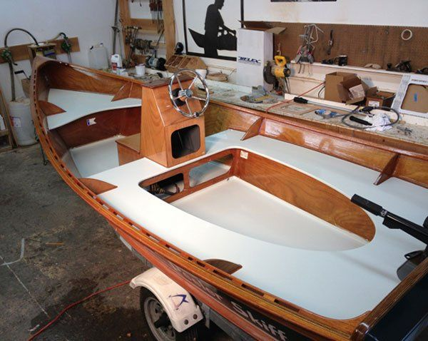 Peeler Skiff - another of the boats I considered before ...