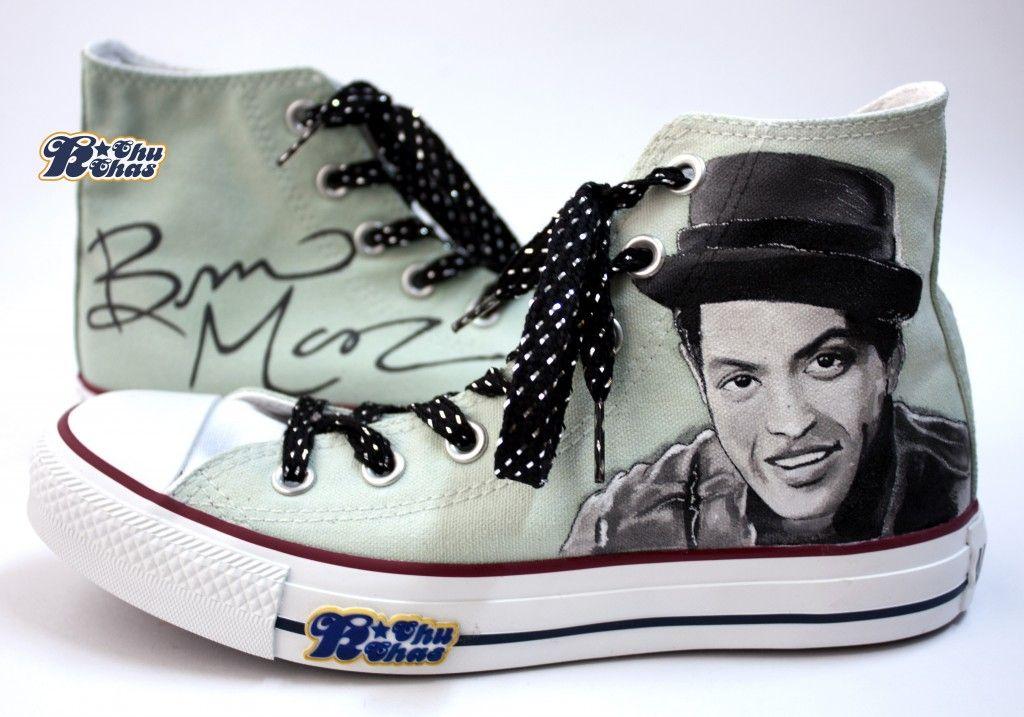 Bruno Mars Converse | Live bilder und Ruthe