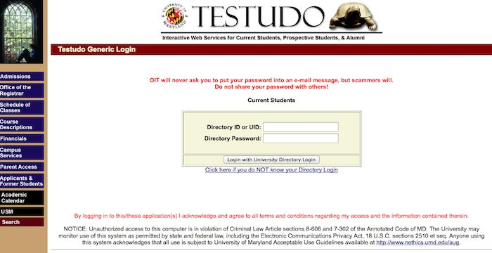 Umd Login Umd Edu The University Of Maryland Online Faculty