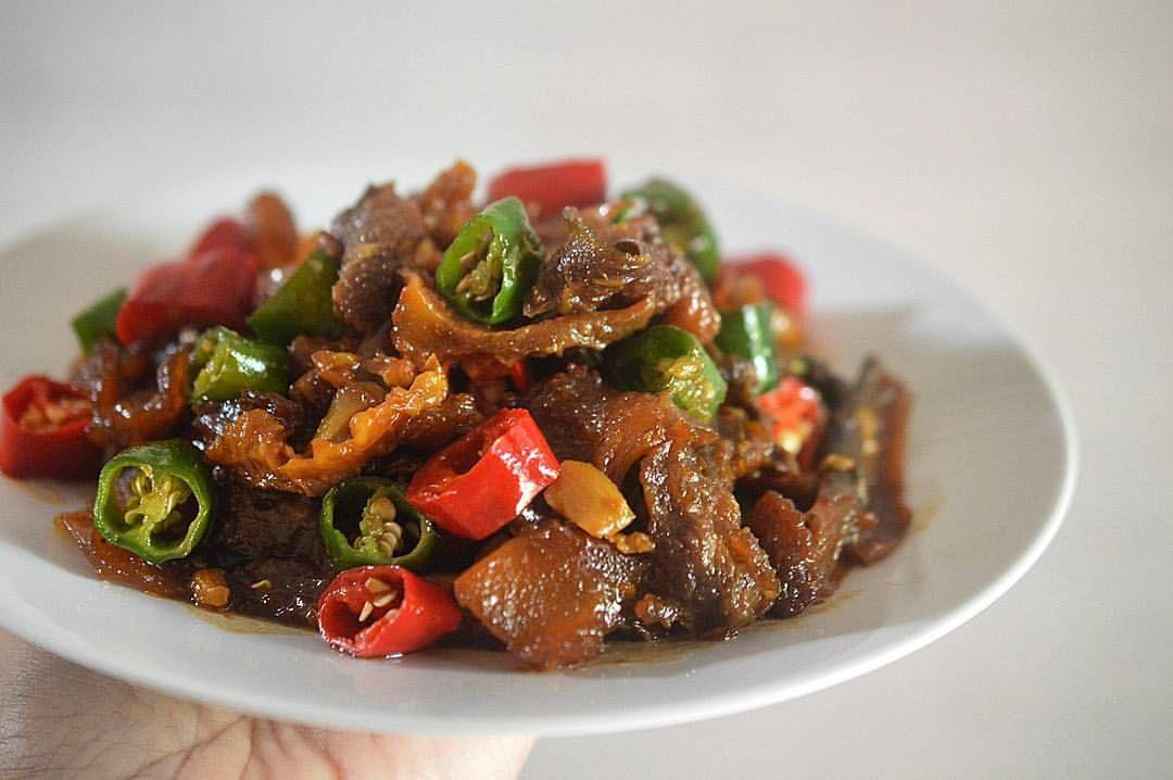 Oseng Kikil Lombok Kethok Resep Masakan Resep Masakan Indonesia Masakan Indonesia