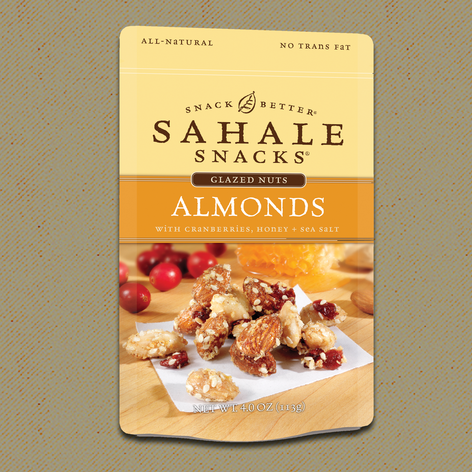 Who says indulgent can't be healthy? Sahale Snacks was founded on a simple idea: take all-natural ingredients, add a dash of culinary magic, and create great tasting snacks. These glazed almonds and are not only delicious but healthy as well!