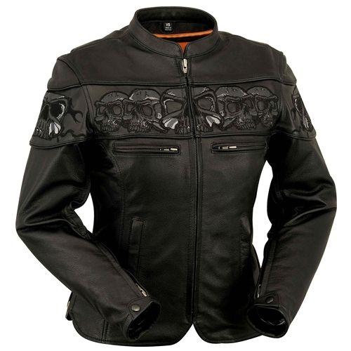 Mens Deuce Motorcycle Jacket Castle Streetwear Motorcycle