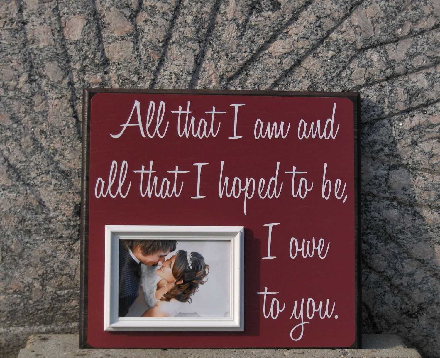 Wedding gift one year anniversary gift first dance love song