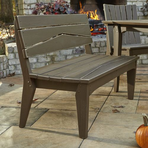 Hourglass Garden Bench Uwharrie Chair Patio Bench Bench With Back