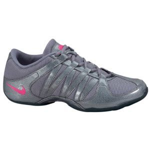 f4c46aecdc7945 Nike Musique IV - Women s - Cheer Dance - Shoes - Grey Black Vivid Pink -  size 10