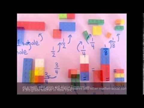 Teacher Uses LEGOs To Explain Math To Schoolchildren - YouTube