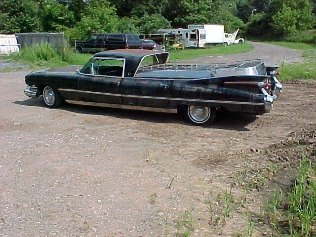Rear Of 59 Cadillac Flower Car Misc Flower Cars Flower Car