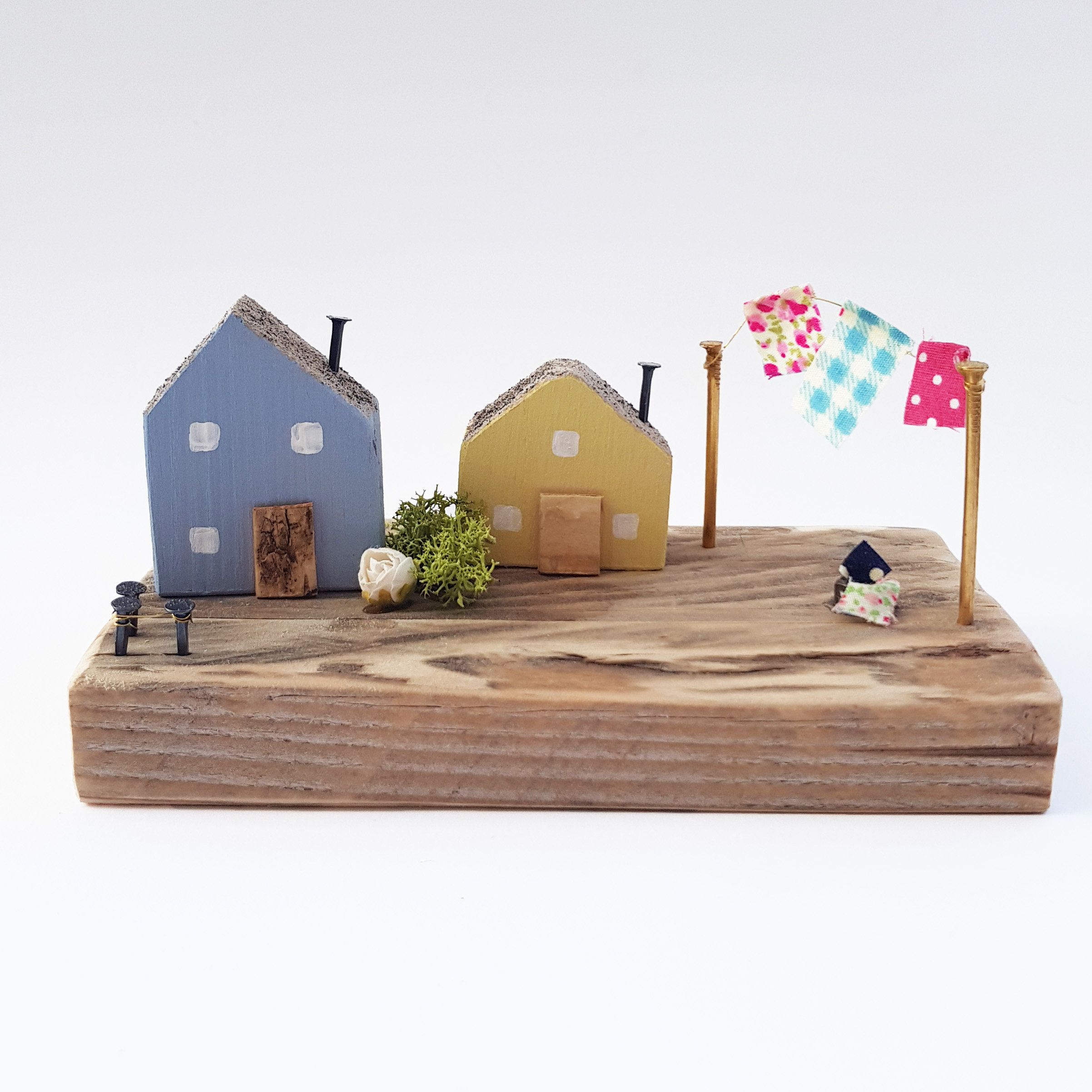 Miniature Houses Diorama Wooden House Scenes Ornaments For Etsy Tiny House Ornament House Ornaments Miniature Houses
