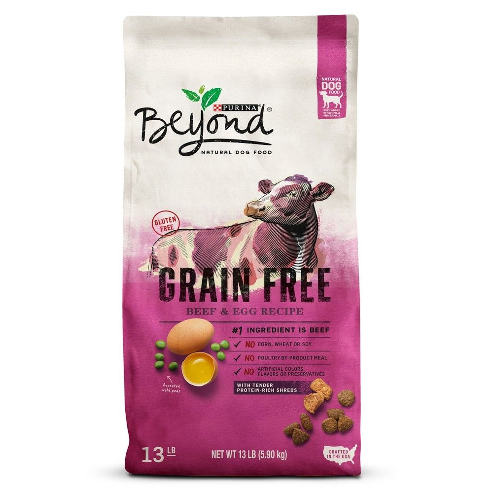 Purina Beyond Grain Free Natural Dry Dog Food Grain Free Beef