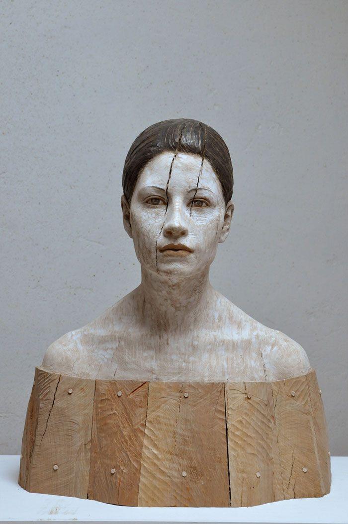 Bruno Walpoth イタリアの彫刻家   木の彫刻