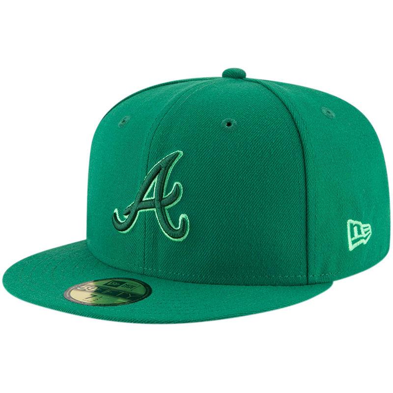 0b65175bc5b ... australia atlanta braves new era league pop 59fifty fitted hat green  c3458 27eb1