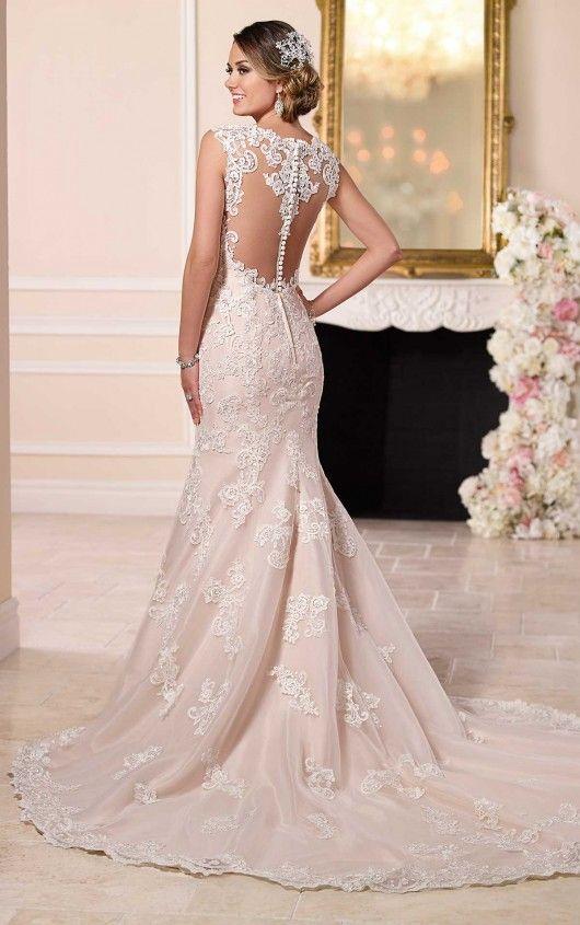 Vintage Inspired Sexy Wedding Dress