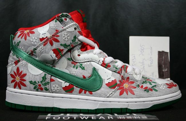 "US Release Date: CNCPTS x Nike SB Dunk Hi ""Ugly Christmas Sweater"""