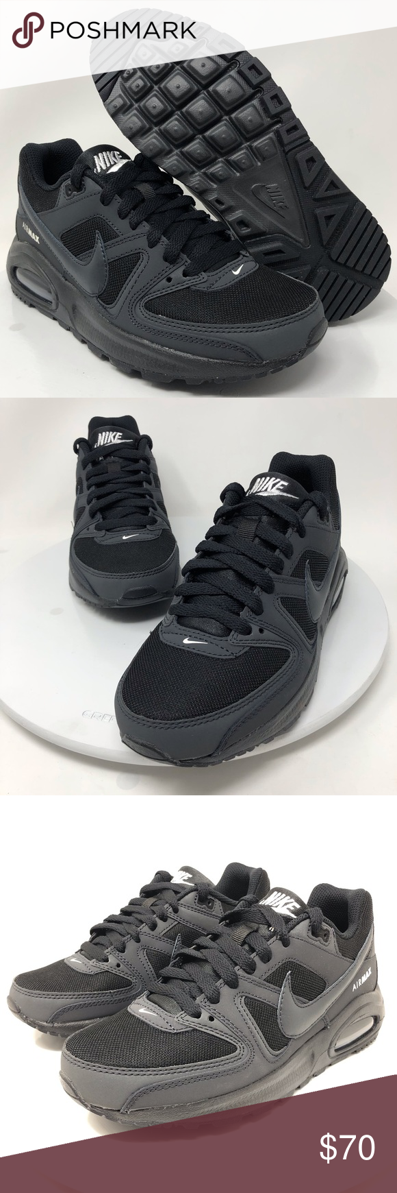 size 40 11679 678a2 Nike Air Max (GS) Command Flex Sz 4.5Y 844346-002 Nike Kids Air Max (GS) Command  Flex Running Shoes Sz 4.5Y 844346-002. Condition is New with box but has no  ...