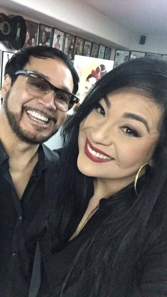 Oscar De La Rosa and Suzette Quintanilla :D
