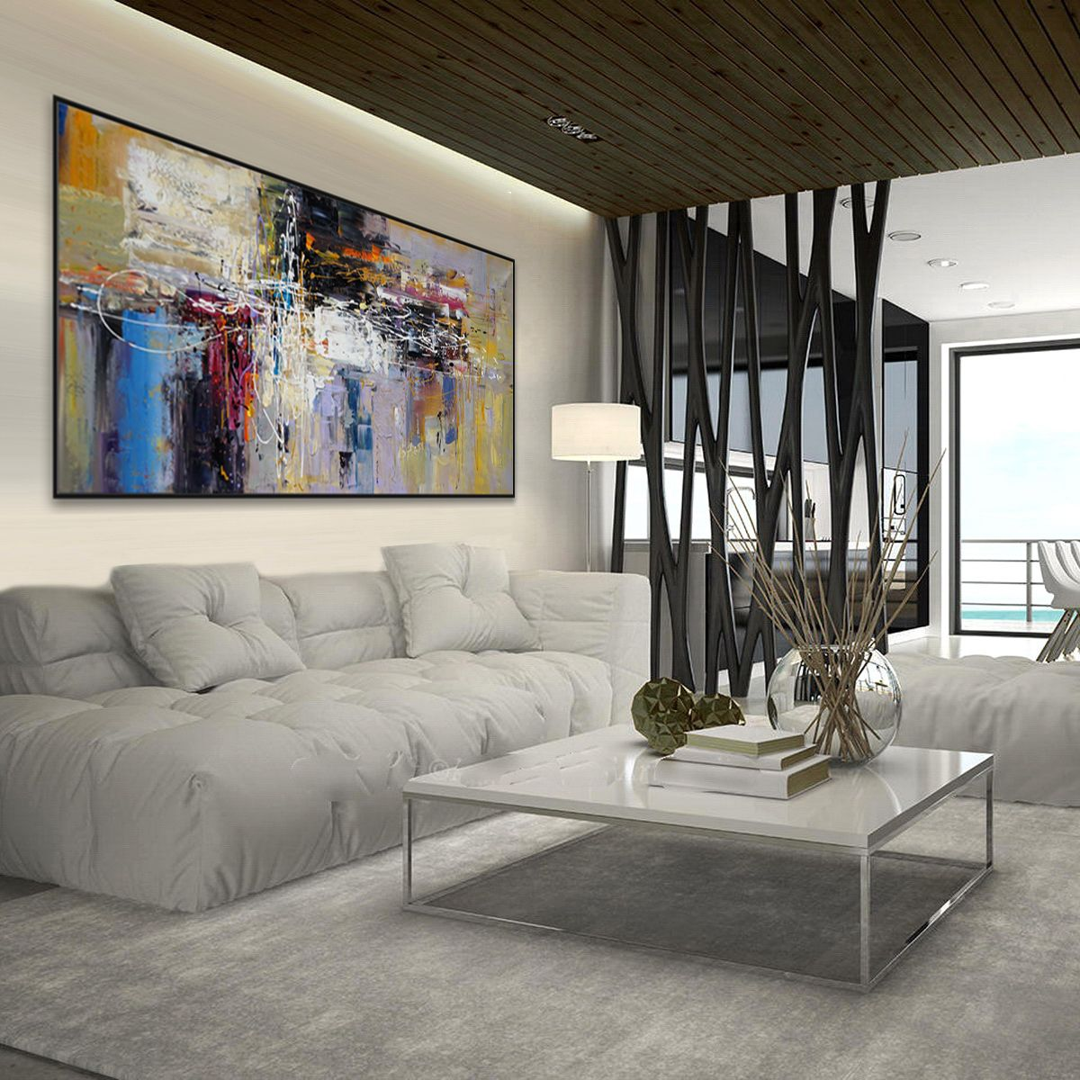 Rustic Home Decor Painting