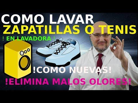 Como Lavar Zapatillas O Tenis En Lavadora Elimina El Mal Olor Youtube Lavar Zapatillas Lavadora Lava