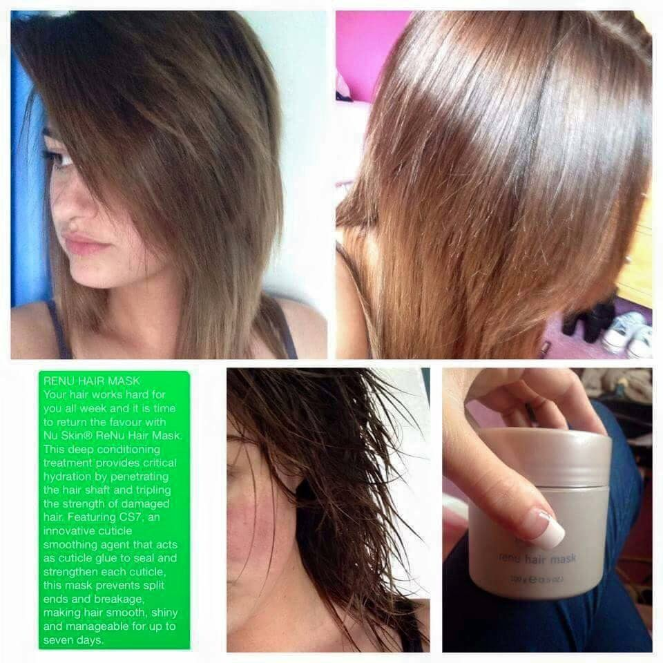 Get beautiful shiny strong hair with this amazing hair mask :)