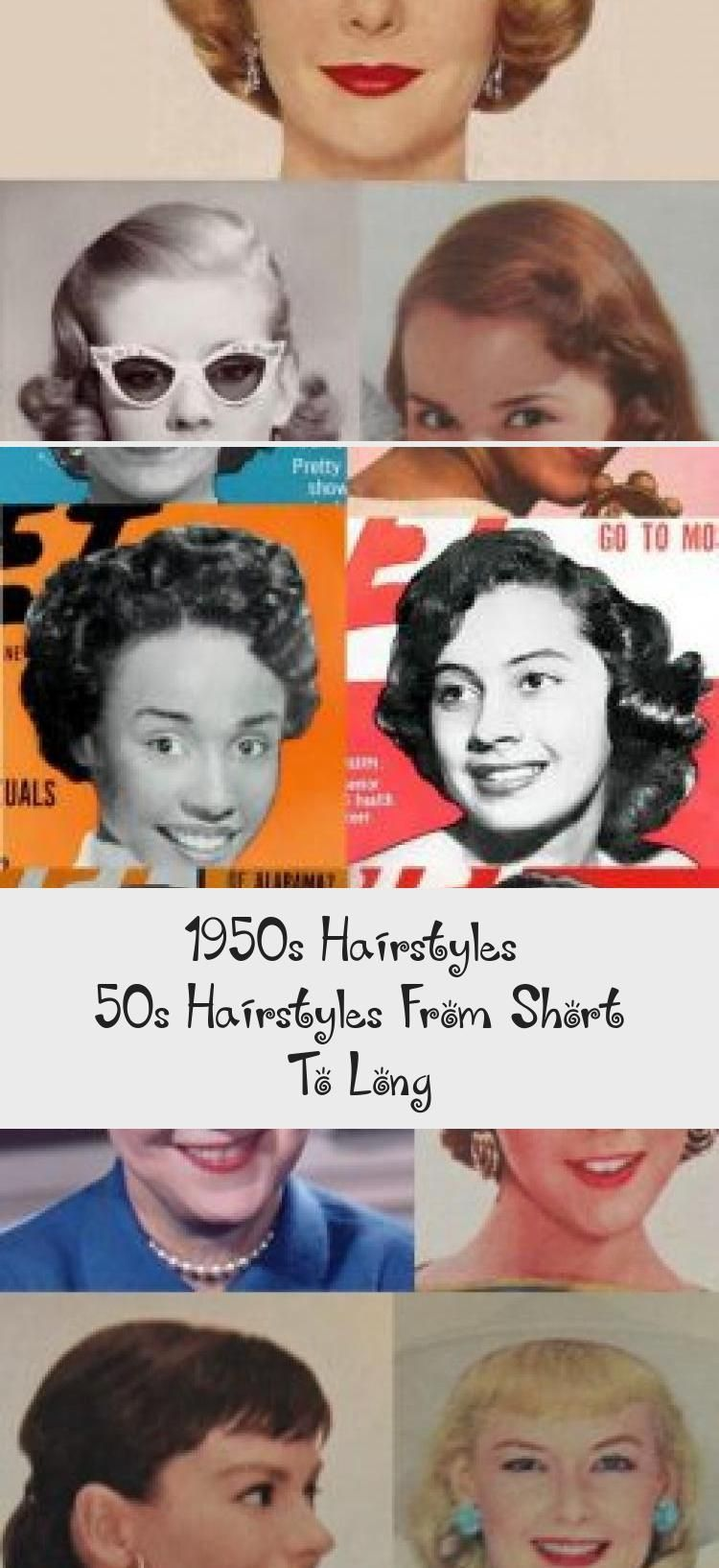 1950s Hairstyles 50s Hairstyles From Short To Long Hairstyle A2vids 1950s Hairstyles 1950s Hair In 2020 1950s Hairstyles 50s Hairstyles Long Hair Styles
