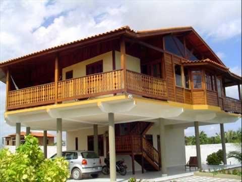 Modelos de casas de madeira youtube casas de madera pinterest belize cabana and house - Youtube casas de madera ...