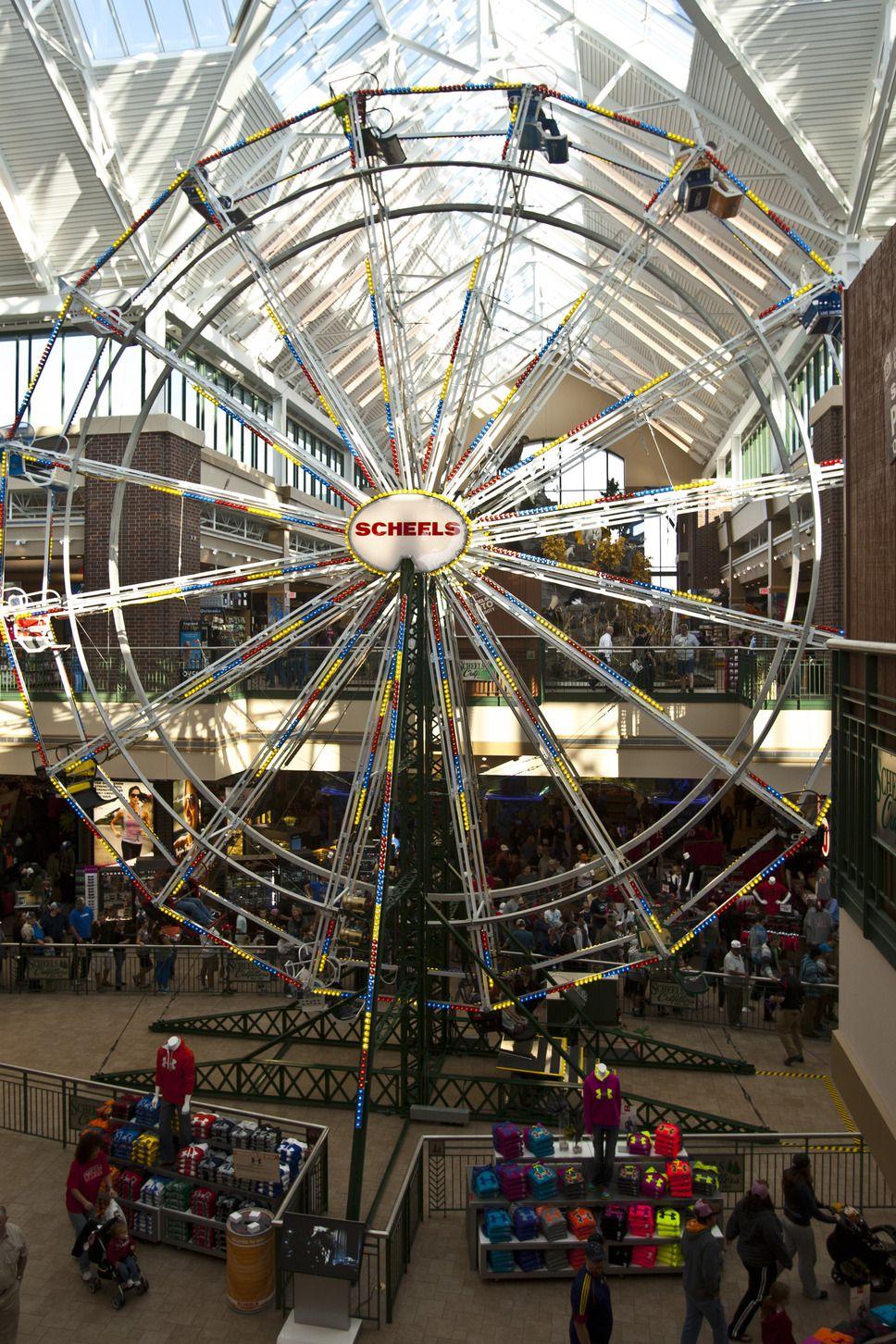 Chris Detrick   The Salt Lake Tribune) The Ferris wheel at
