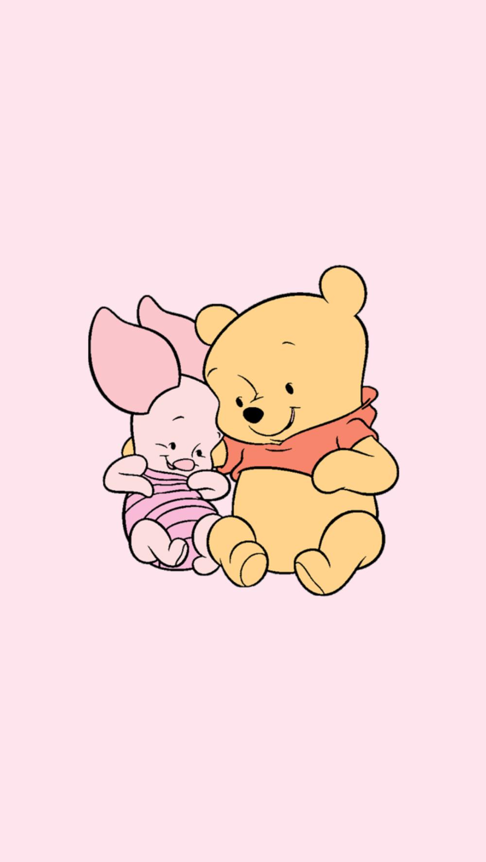 Cupcakesandrainbowsxoxo Baby Pooh Bear Lockscreens Cutewallpaperbackgrounds Wallpaper Iphone Disney Disney Wallpaper Cute Disney Wallpaper
