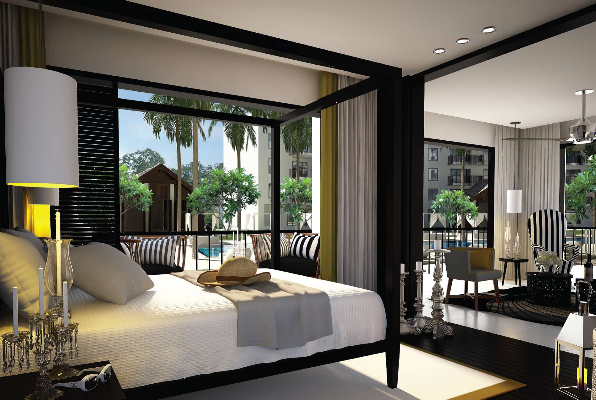 Caribbean Bedroom Design Brilliant Luxury Interior In The Caribbean  All About The Lavish And Design Inspiration