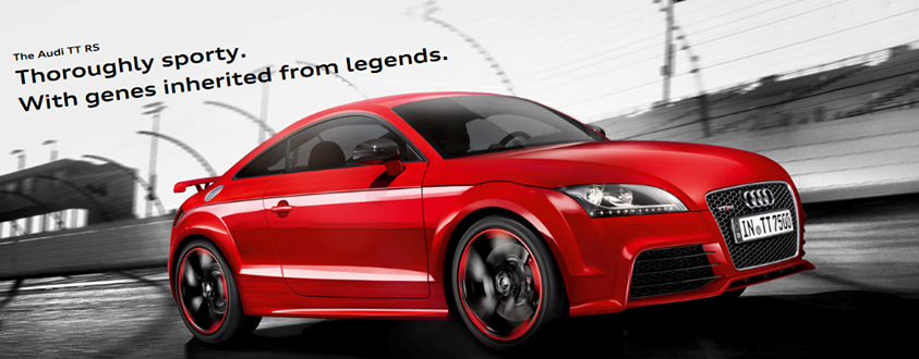 Throughly sporty. With genes inherited from the legends ...