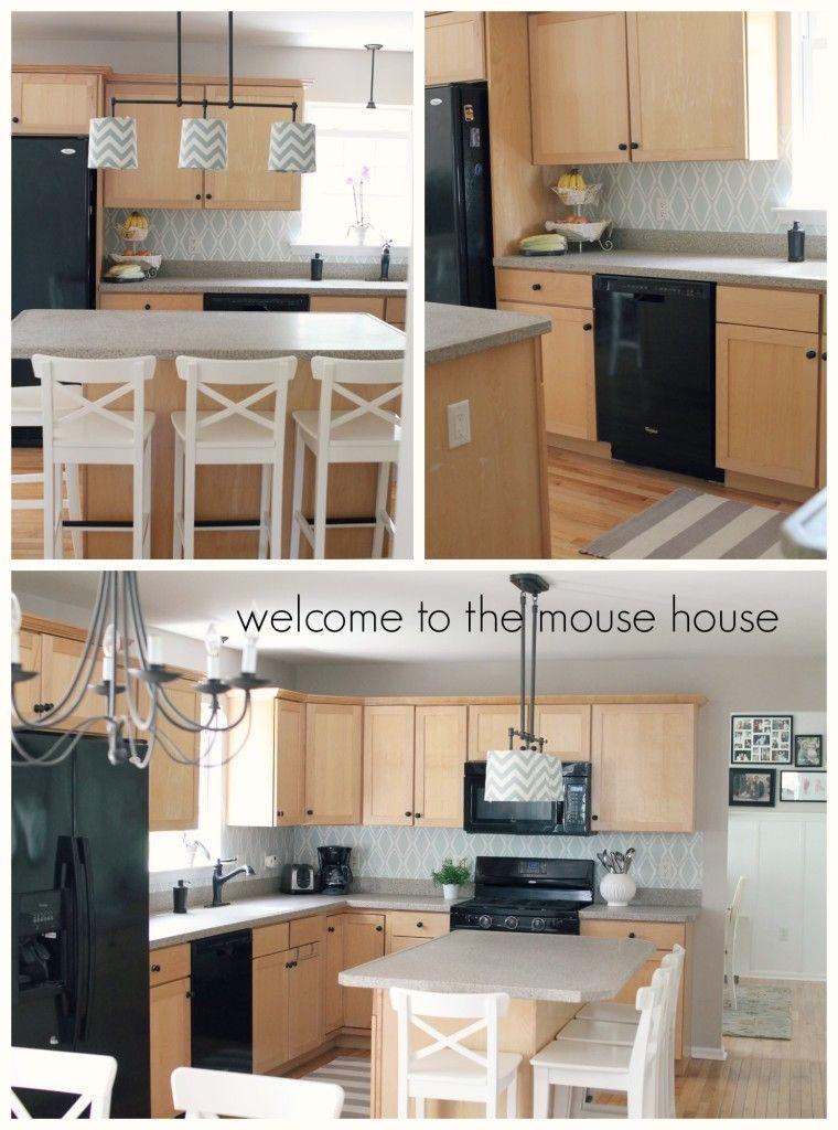 Easy Kitchen Backsplash 30 Target Wallpaper Design Kitchen