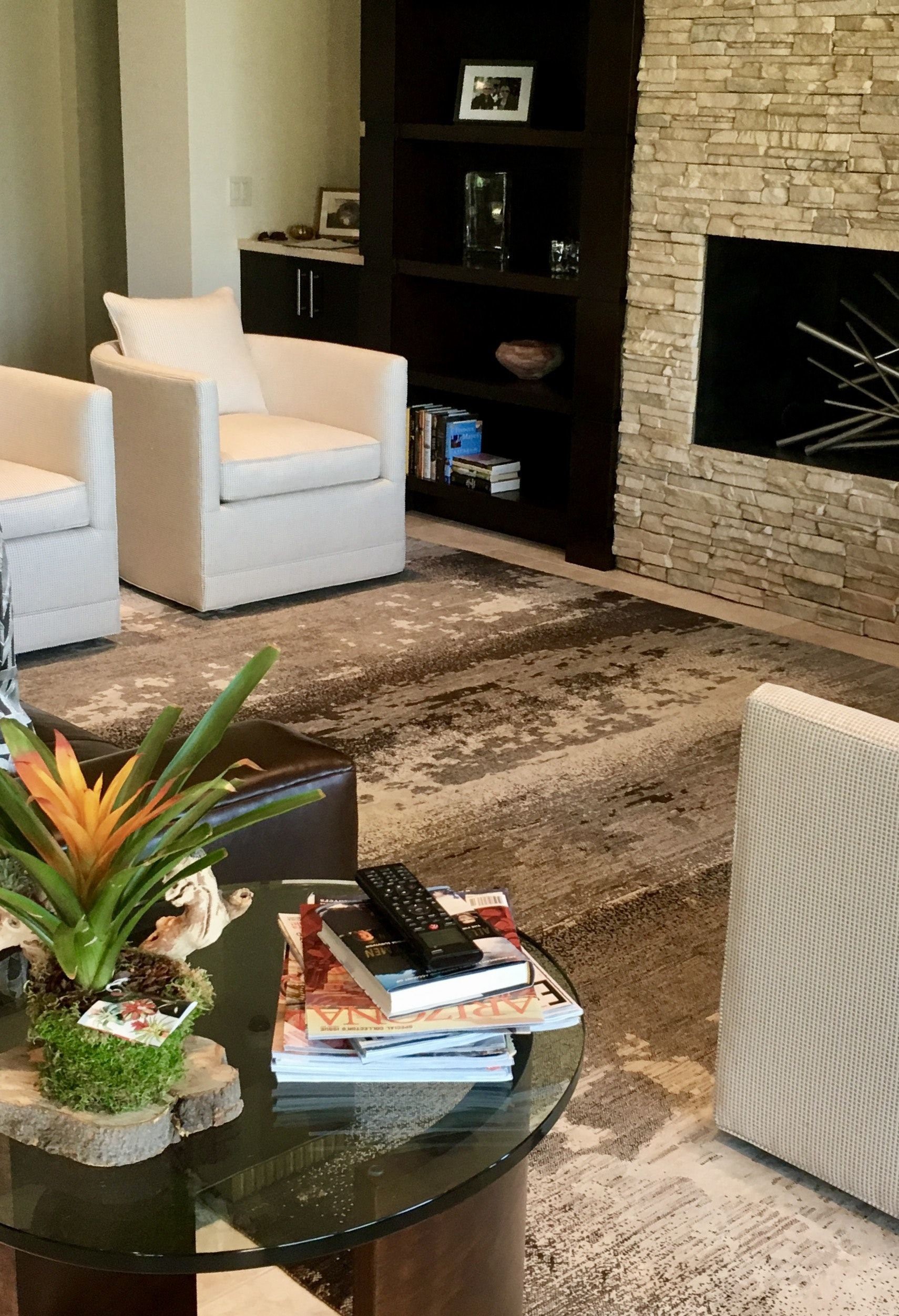 North Scottsdale, Arizona Living Room | Arizona living ...