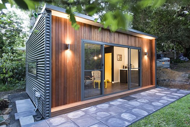 Prefabricated Outdoor Studios By Inoutside   HiConsumption · Backyard OfficeGarden  ...