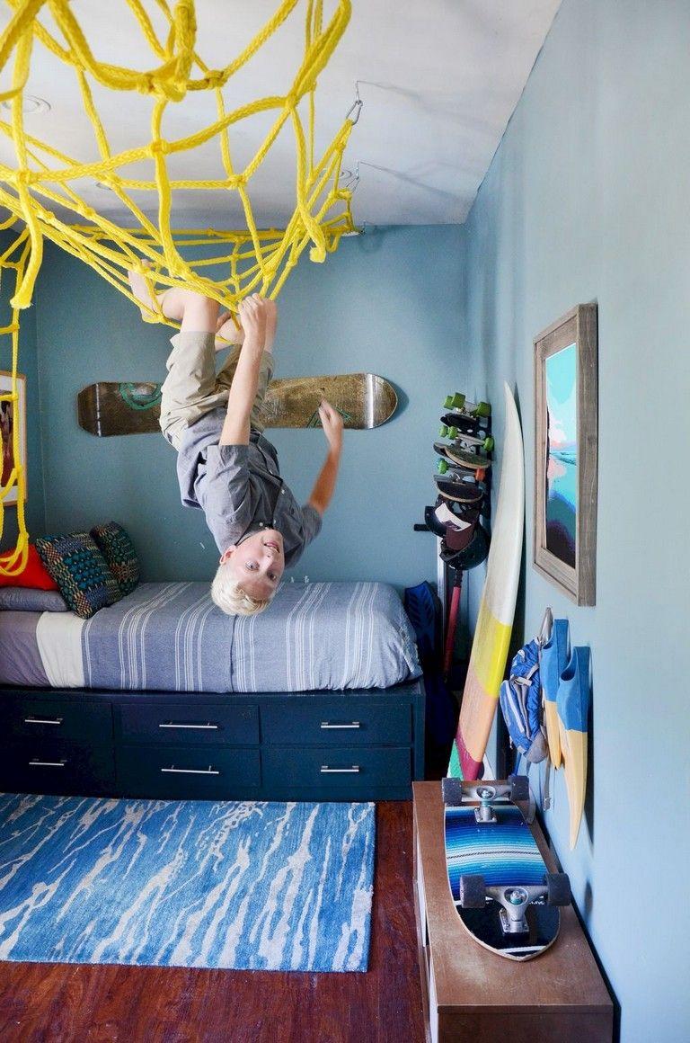 28 Funny Kids Bedroom Design Ideas Kids Bedroomdesign Bedroomdesignideas Kids Bedroom Designs Teenage Boy Room Boy Room