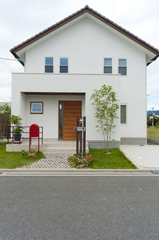 切妻屋根 建築事例 注文住宅 家 広島 工務店 オールハウス 和風