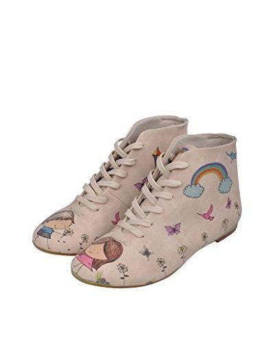 DOGO Zapatos de cordones Picked Flowers