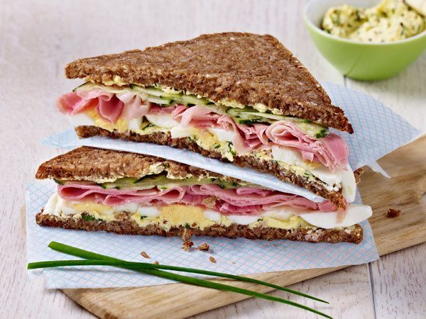 Photo of Herzhaftes Schlank-Sandwich Rezept    LECKER
