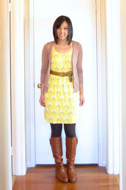 Outfit idea from puttingmetogether.com ... An awesome blog!